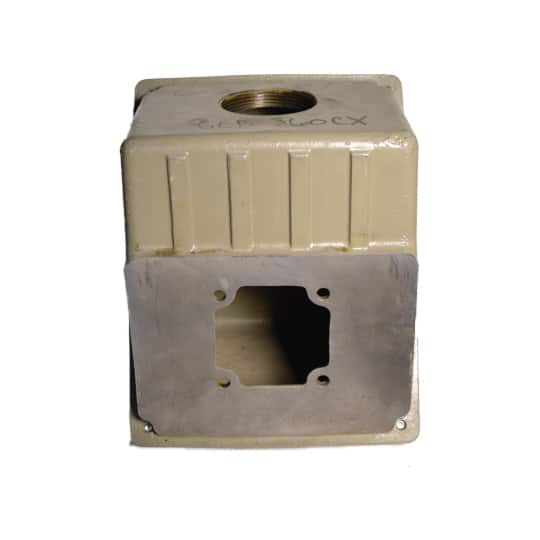 General Electric Terminal Box for 360 Frame Motors, Cast Iron